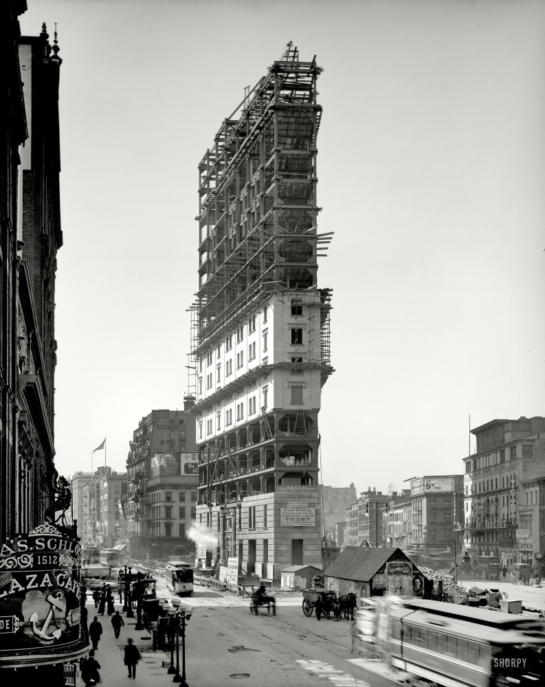 Times Square, Then and Now (1/6)