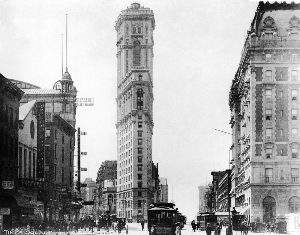 Times Square, Then and Now (2/6)