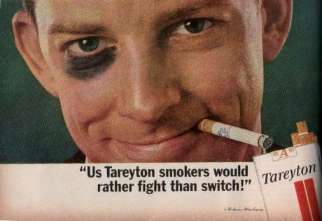 Cigarette Ads 2012 That cigarette ads thrived