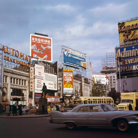 Times Square in 1961