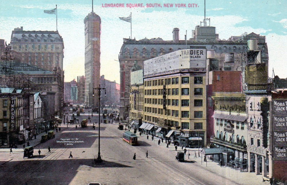 Times Square, Then and Now (4/6)