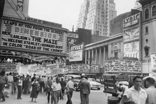 Times Square 1953