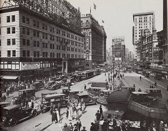 Times Square, Then and Now (5/6)