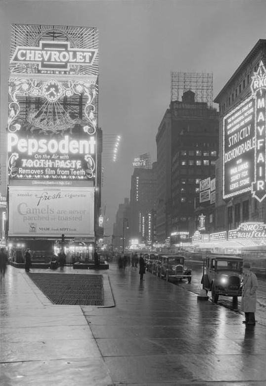 Times Square, Then and Now (6/6)