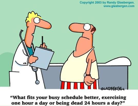 Exercise or Die
