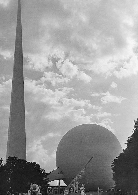 World's Fair 1939 - Trilon and Perisphere