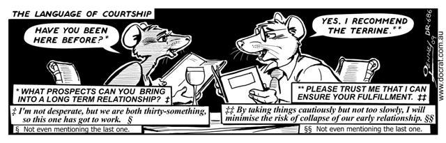 Doc Rat - Language of Courtship