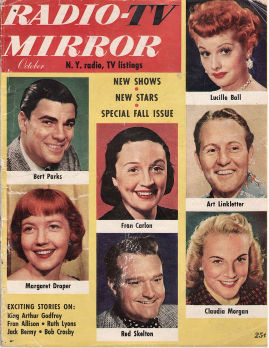 Radio TV Mirror Cover