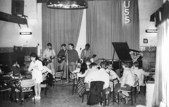 Naples - USS - Ship's band