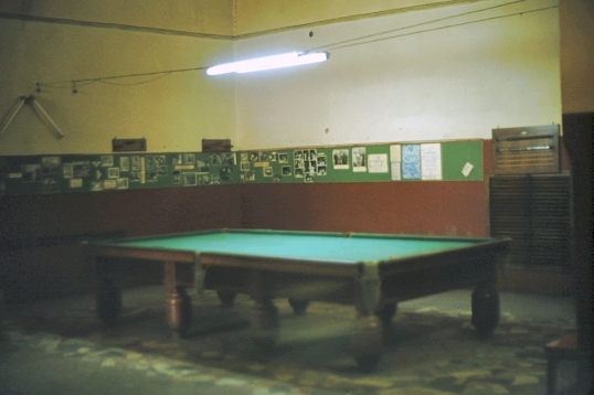 USS Naples - 14 ft snooker table