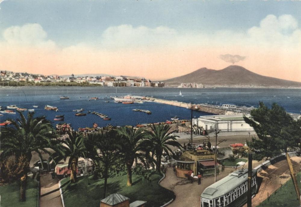Naples: Old Postcard