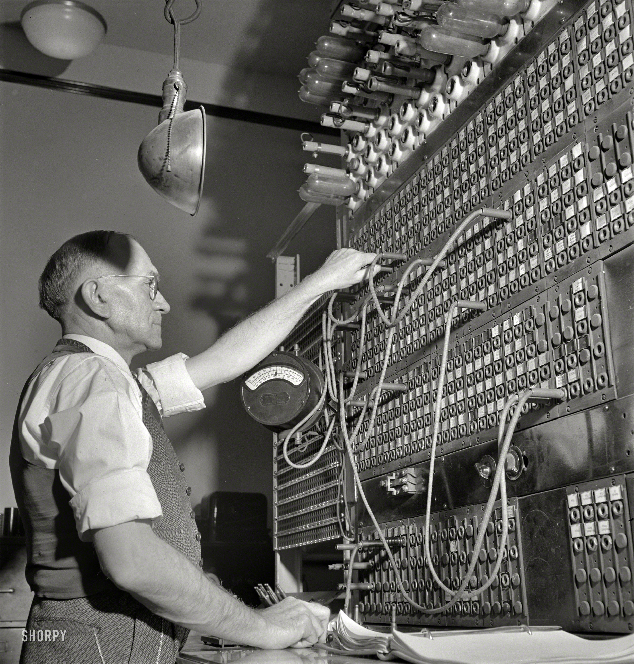 Old Fashioned Switchboards Plug