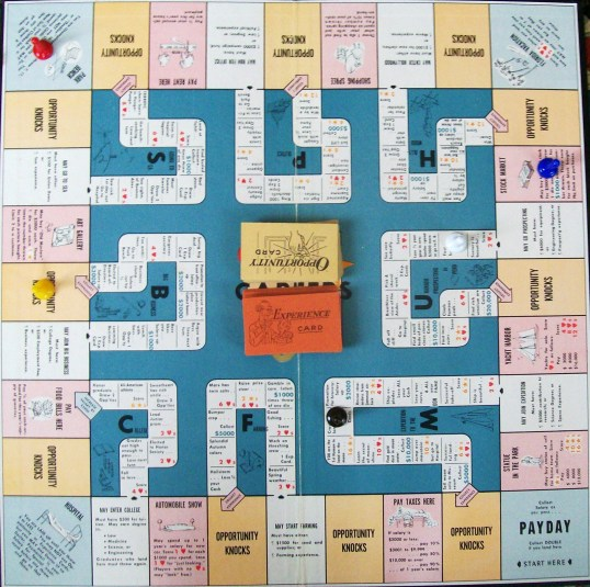 Careers-Game-Board