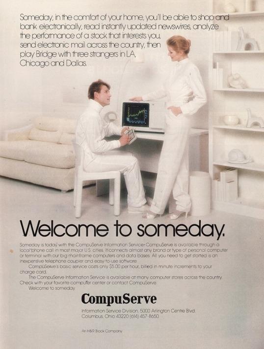Vintage Compuserve Ad 1982