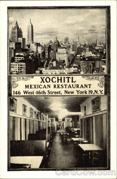 Xochitl Mexican Restaurant New York