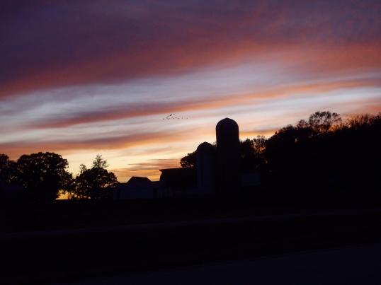 Farm Sunset - North Dakota 2