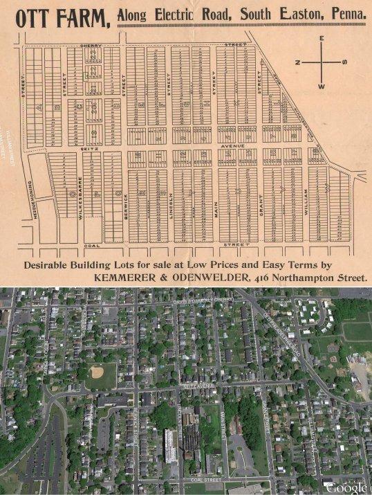 Ott Farm with Map