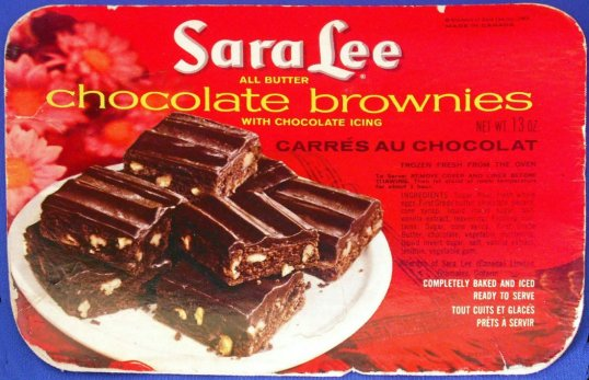 Sara Lee Frozen Brownie Cover