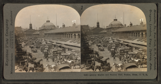 Quincy_Market_and_Faneuil_Hall,_Boston,_Mass._U.S.A,_by_Keystone_View_Company