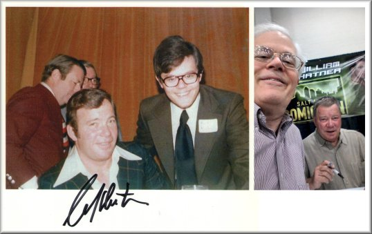 Chris & Bill Shatner
