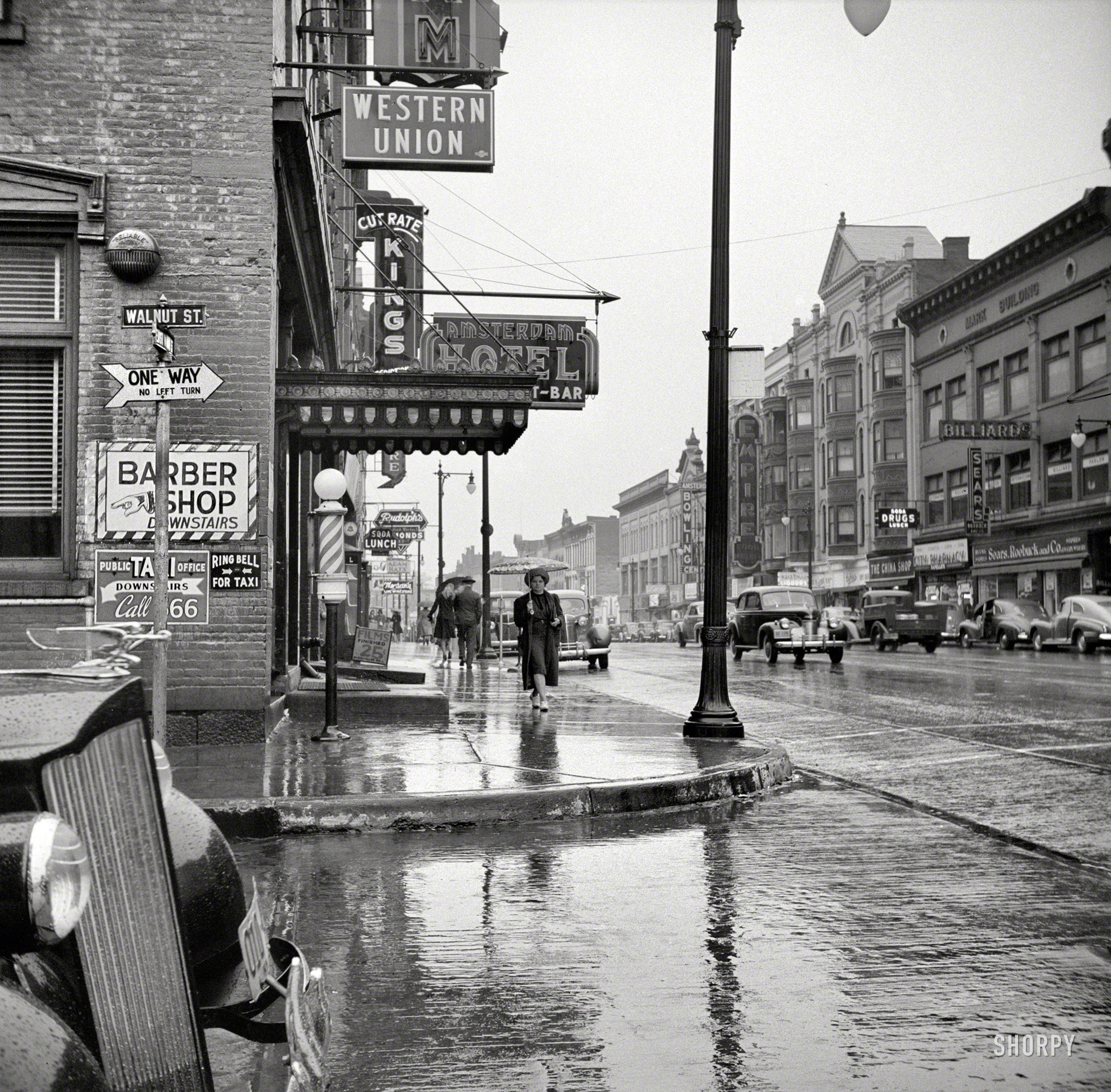 Old Amsterdam (NYC), 1941 | Playing in the World Game