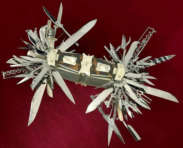 The Ultimate Swiss Army Knife 1880 Version Playing In
