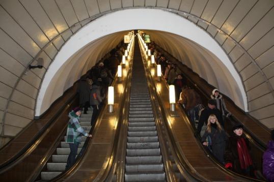 escalators metro
