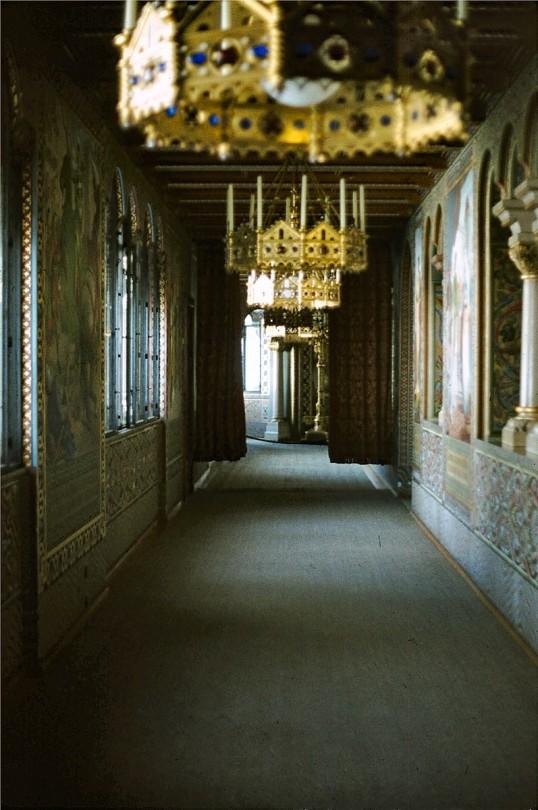 Fussen - Neuschwanstein interior