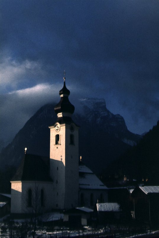 Lofer, Austria - December, 1971