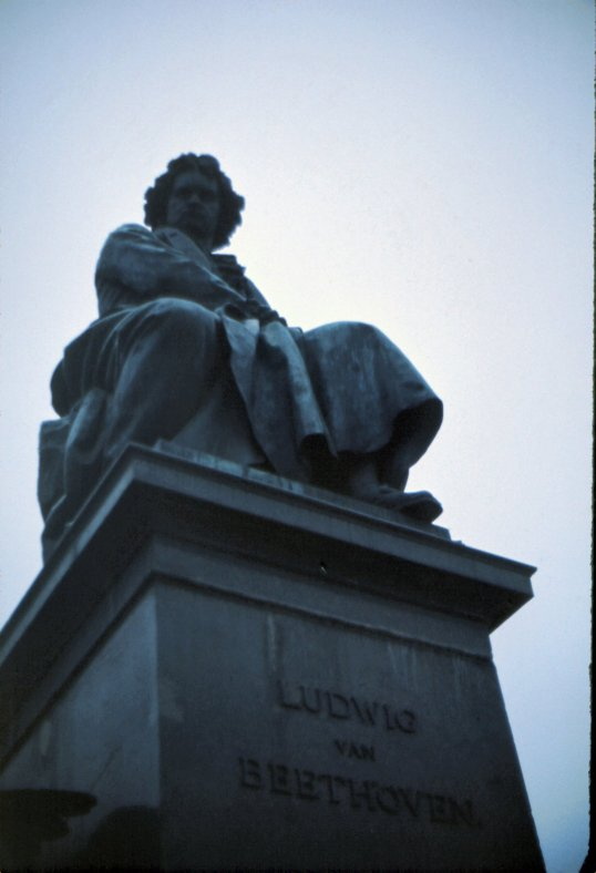 Vienna - Beethoven Monument