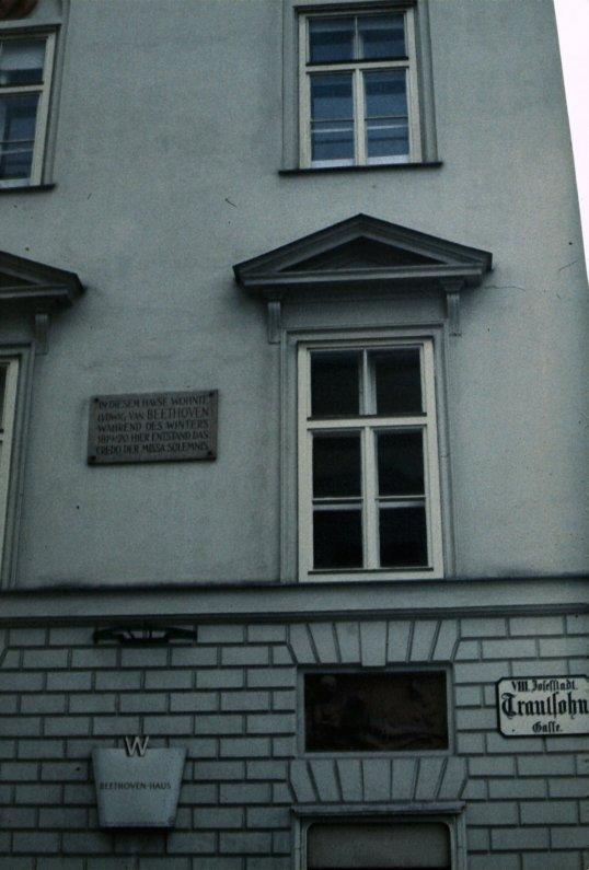 Vienna - Beethovenhaus