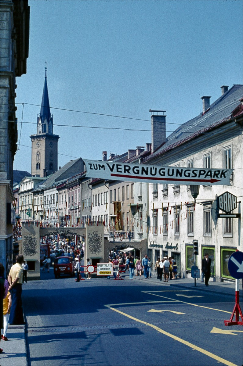 Villach Austria  City new picture : Villach, Austria – Kirchtag, 1975 | Playing in the World Game
