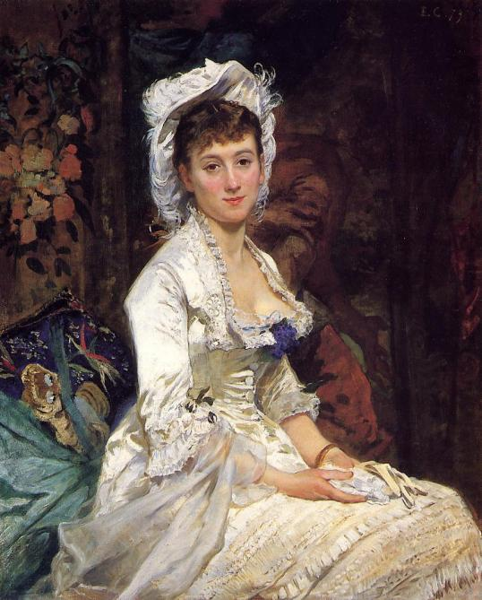 Eva_Gonzalès_-_Portrait_of_a_Woman_in_White