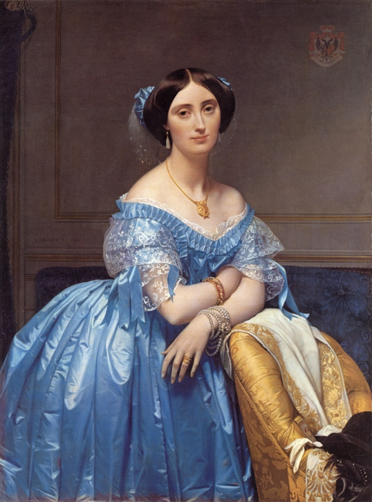 Ingres_Princess_Albert_de_Broglie