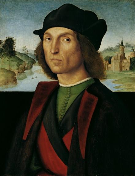 Raffaello-Sanzio-Raphael-Portrait-of-a-Man-1502-1504