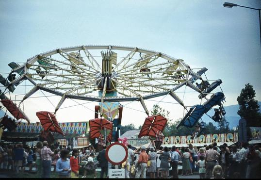Villach - Kirchtag - Amusement area
