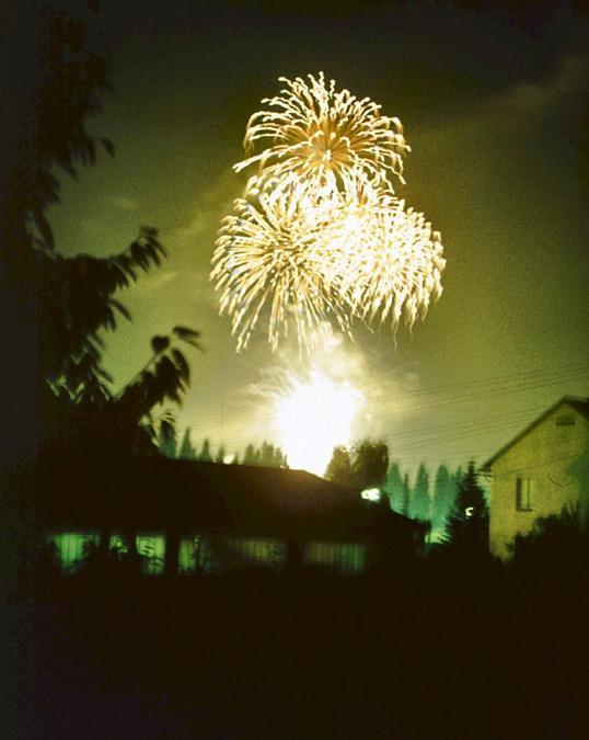 Villach - Kirchtag - Fireworks