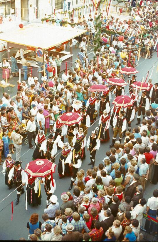 Villach - Kirchtag - Trachten parade