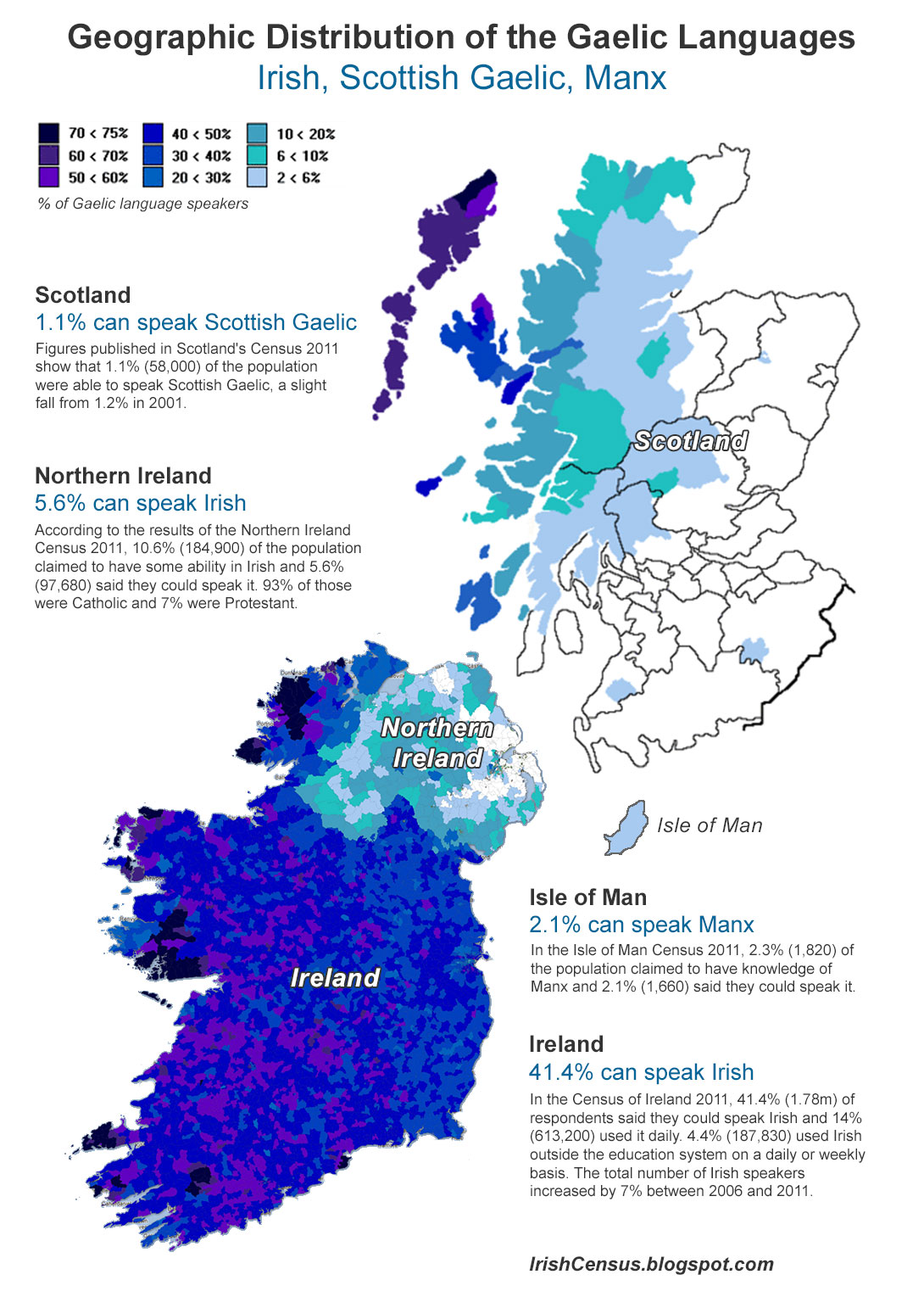 main demographic economic and geographic facts about ireland Population statistics geography of the emerald island ireland is an island situated in the extreme northwest side of europe between 515 and 555 degrees north latitude and between 55 and 105 degrees west longitude joined the european economic community in 1973.