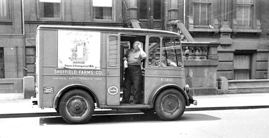 New York 1950 - Milkman