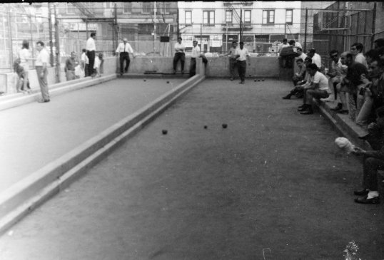 New York - Bocce Court