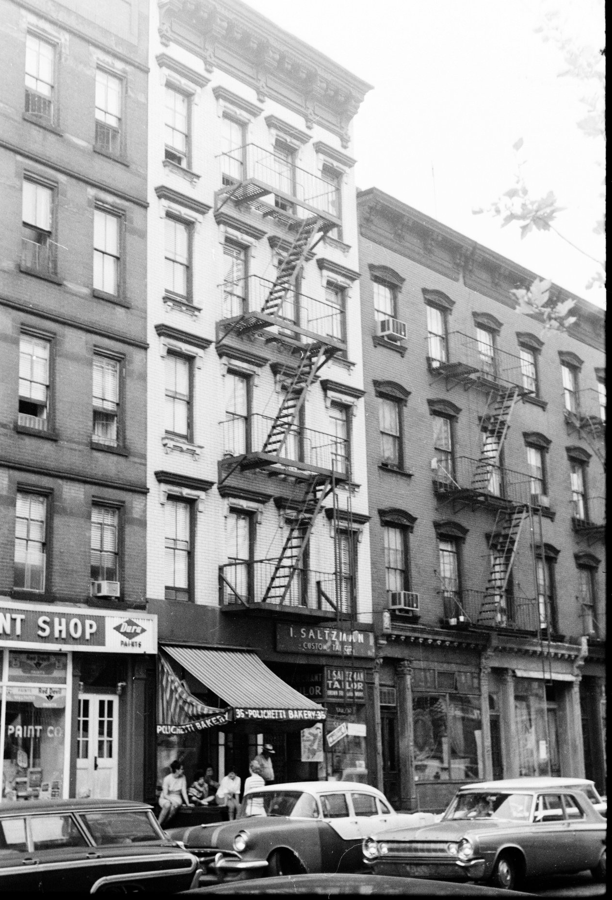 Tenement houses in new york city