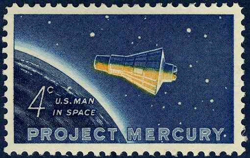 Mercury-Stamp