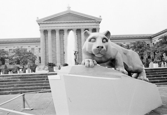 Philly - Museum Lion