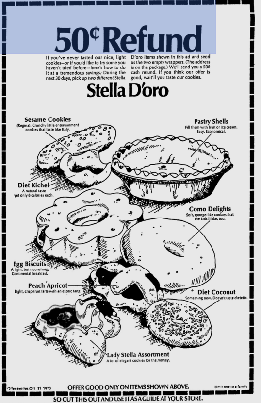 Stella D'Oro Egg Biscuits