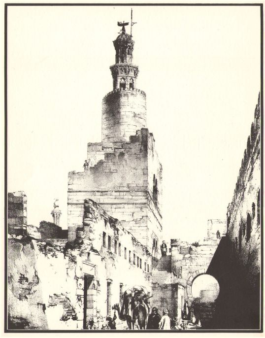 D - Minaret, Ibn Tulun