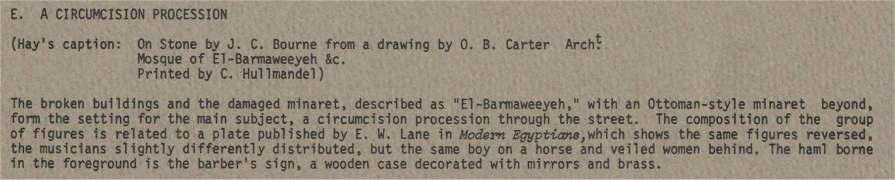 Description E