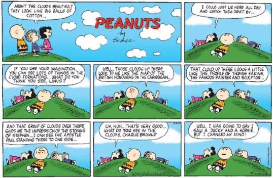 Comics-Peanuts-CloudWatching