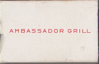 Ambassador Grill 44th & 1st Ave NYC