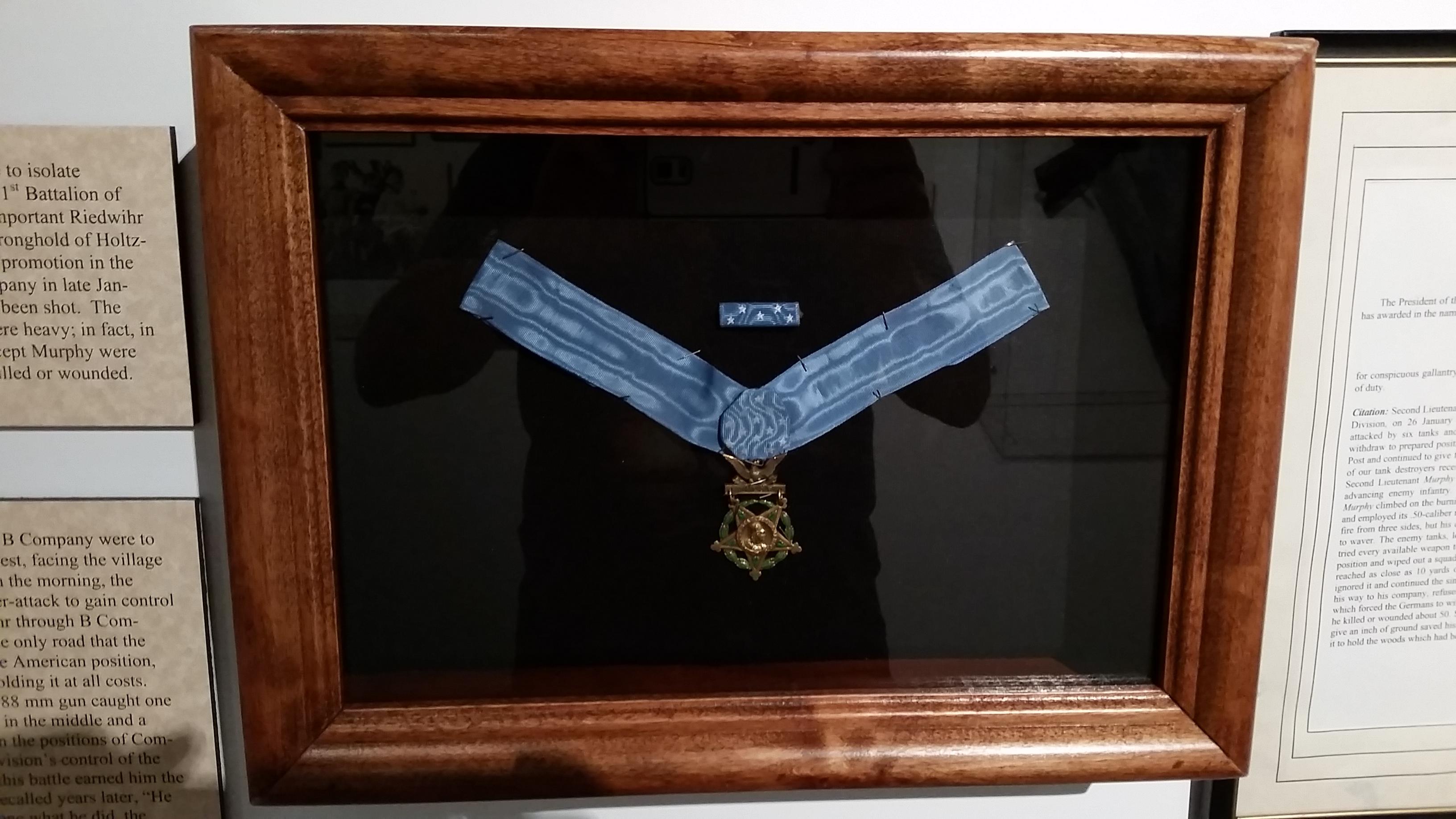 Audie Murphy Medal of Honor